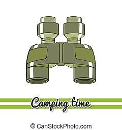 Camping Equipment Binoculars