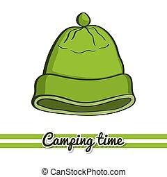 Camping Equipment Hat