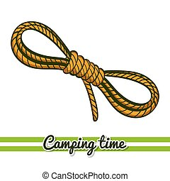 Camping Equipment Rope