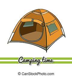 Camping Equipment Tent