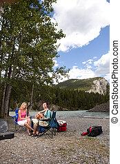 Camping Guitar Outdoor