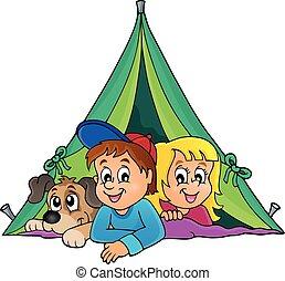 Camping theme image 1