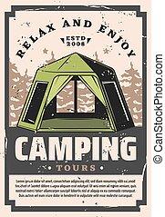 Camping tours recreation sport adventure