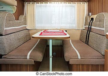 Camping Van Dining Room