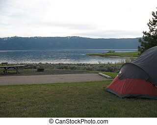 camping, vue