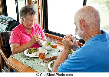 campingbus, ältere, -, sagen aufschub