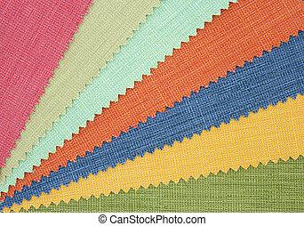 campione,  Multicolor, tono, tessuto, struttura