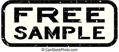 campione, quadrato, parola, francobollo, libero, gomma,...