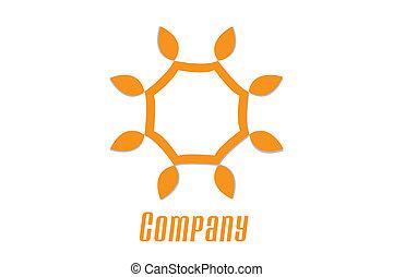 campione, sole, logotipo