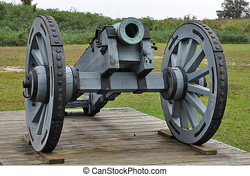 campo batalha, yorktown, virgínia