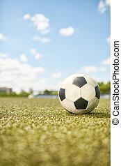 campo, bola, futebol