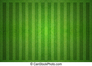 campo, cima, futbol, verde, vista