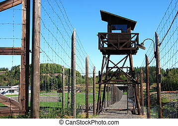 campo de concentración, vojna