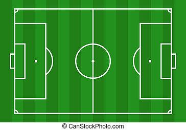 campo del fútbol