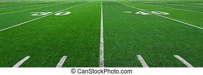 campo, fútbol