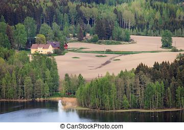 campo, finlandés