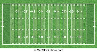 campo, football americano
