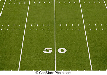 campo, football americano, vuoto