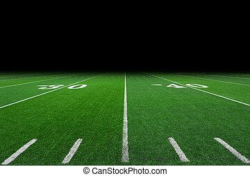 campo, football