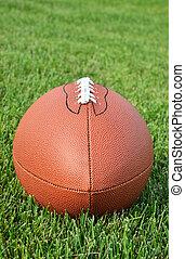 campo, futebol americano, capim