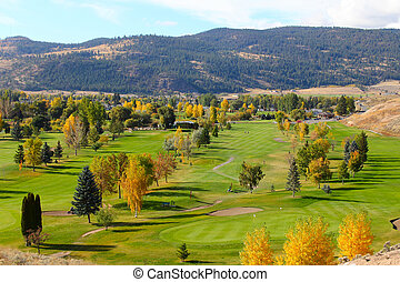 campo golfe