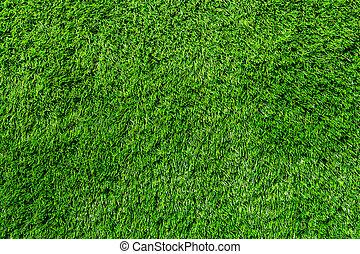 campo hierba, artificial