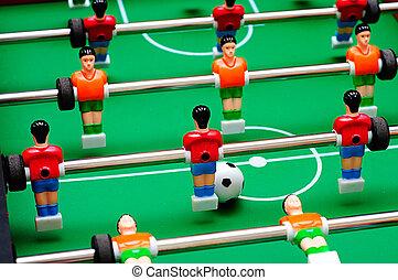 campo, jogadores futebol americano, jogo, tabela verde,...