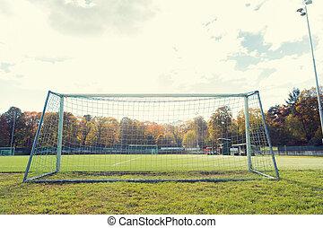 campo, meta futebol americano