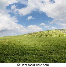 campo, paisagem