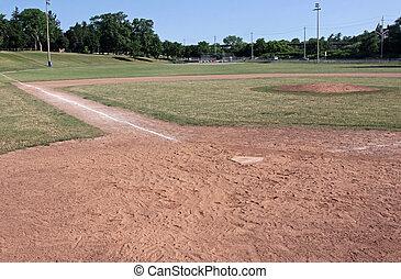 campo, pelota