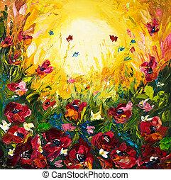 campos, flor