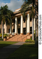 Campus building at the University of Hawaii