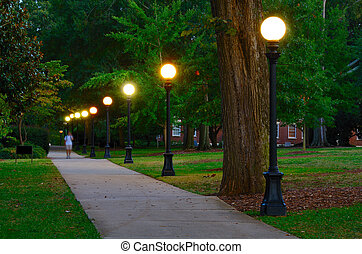 Campus - College campus at the University of Georgia in...