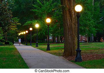 Campus - College campus at the University of Georgia in...