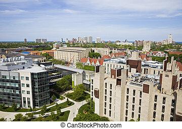 campus universidade, chicago