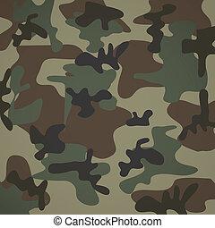 camuflage pattern