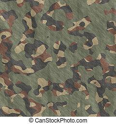 camuflagem, material, fundo, textura