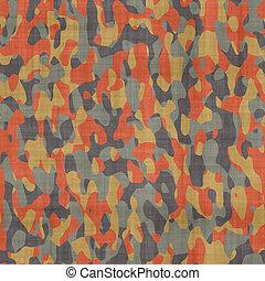 camuflagem, material