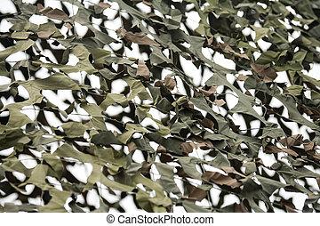 camuflagem, rede