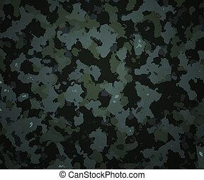 camuflagem, textura, exército, fundo
