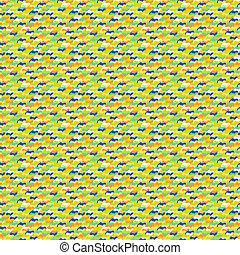 camuflaje, seamless, patrón geométrico