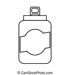can beverage isolated icon
