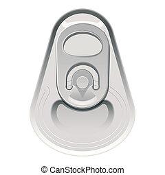 Can cap  - Vector illustration of a can cap