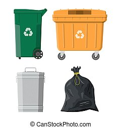 Recycling and utilization equipment - Can container, bag and...