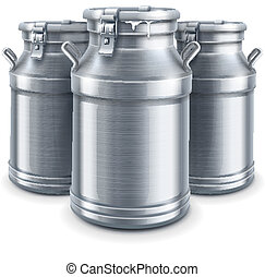 can containers for milk isolated vector - can container for...
