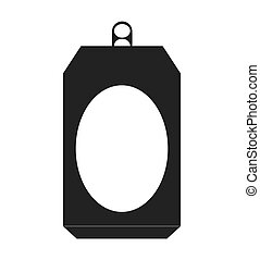 can metal bottle icon