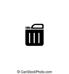 can., moderno, jerry, vector, illustration., simple, diseño, icono