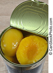 Can of apricots from above