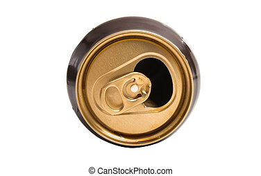 can of beer isolated