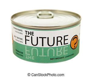 can., tin, concept, future.